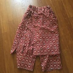 パンツ/古古手芸/暮らしni手芸/手づくり/ハンドメイド/もんぺ/... 着物リメイク👘アレンジもんぺを作りました…