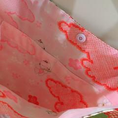メルカリ販売中/メルカリ/肩掛けバッグ/ショルダーバッグ/隠れたオシャレ/長襦袢/... 着物リメイク👘 長襦袢は隠れたオシャレ。…(5枚目)