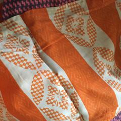 着物を解く/羽織/私ができるSDGs/SDGs/手づくり楽しい!/着物リメイク/... 【着物リメイク】 羽織を解いています。「…(3枚目)