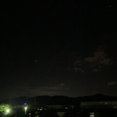 夜空 今夜はとても晴れ🌃(1枚目)