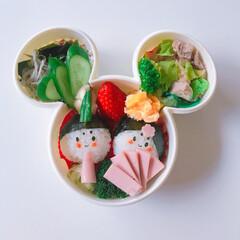 幼稚園お弁当 ひな祭りバージョン。