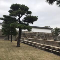 城/旅行/大阪城/プチトリップ ここ時代劇に使われそう! 昔っぽい! っ…