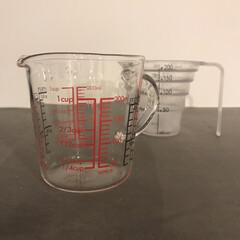 ハリオ/メジャーカップ/計量カップ/新生活/キッチン雑貨/雑貨/... 計量カップを買い替えました 前回プラスチ…
