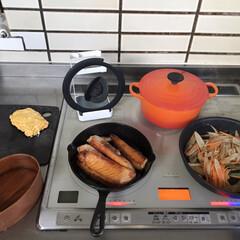 曲げわっぱ 漆塗り 弁当箱 食洗機対応 山中塗り Mサイズ 摺り 600ml 食器 彩光(弁当箱)を使ったクチコミ「今朝のお弁当作り中をぱしゃり📷 towe…」