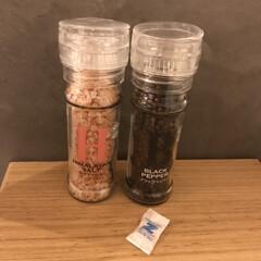 STAR OF SPICE ミル付き 岩塩 ヒマラヤ ピンクソルト 110g(塩)を使ったクチコミ「このミル付きシリーズ、お気に入りです♡ …」