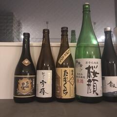 宅飲み/家飲み/日本酒/キッチン/リフォーム/暮らし 家飲みが確実に増えてる。笑  おじーちゃ…