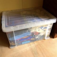 プロフィックス フリーボックス 50浅型 | 天馬(チェスト、タンス)を使ったクチコミ「夏物をボチボチ片付け始めました。 水着と…」(1枚目)