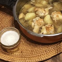 リミアな暮らし/圧力鍋レシピ/圧力鍋/スープ/キッチン/暮らし 休校中の息子。 ずっとゴロゴロされてもな…