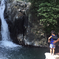 子連れバリ/バリ/海外旅行/旅行/おでかけワンショット 今回のバリ旅行は初めて山に遊びにいきまし…