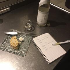 ステンレスキッチン/楽しい時間/おひとりさま/キッチンドリンカー/手取川/日本酒/... 作り置きを作ってるときのお供は 手取川🍶…