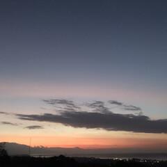 夕暮れ/海外旅行/バリ/旅行 バリの夕暮れ 朝は朝日のまぶしさで「寝れ…