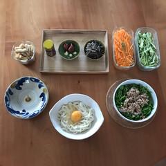 iwaki イワキ パック&レンジ システムセット グリーン PSC-PRN-G7(食品保存容器)を使ったクチコミ「もう夏ですか!? 今日も暑かったです🌈 …」