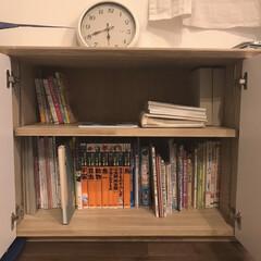 子どもと暮らす/本棚/収納/暮らし 子どもたちの本棚を整理してみました📖 絵…