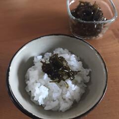 保存容器/iwaki/簡単レシピ/簡単副菜/ごはんのお供/切り昆布/... 切り昆布で昆布の佃煮作ったよ〜 ごはんが…