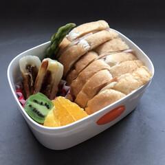 コストコ購入品/コストコ/子供の弁当/新生活/お弁当/暮らし 今日からは次男のお弁当スタートです。 パ…