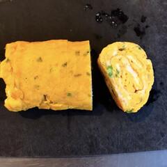 出汁巻玉子/だし巻きの焼き方/お弁当おかず/卵焼き/フライパン/キッチン雑貨/... 普通のフライパンで卵巻き 工程を写メでき…