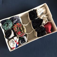 クローゼット収納/クローゼット/服の収納/収納/ニトリ/靴下収納/... 靴下収納 おしゃれ用ver 個性派靴下た…