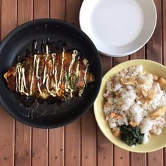 イッタラ プレート ティーマ ホワイト Teema 17cm | イッタラ(皿)を使ったクチコミ「お昼は洗い物をできるだけ減らしたくて 大…」