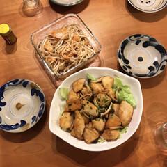 セール品 iwaki パック&レンジ システムセット・ミニ グリーン 1セット AGCテクノグラス 新生活 | AGCテクノグラス(食品保存容器)を使ったクチコミ「鶏肉はむね肉派です♡ 味はどっちも好きな…」