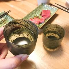 おちょこ/菊水/日本酒/わたしのごはん これはじーちゃんが中国旅行で買ってきた …