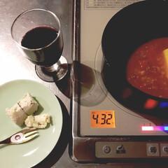 ティファール インジニオ・ネオ マホガニー・プレミア セット9 L63191 | ティファール(鍋、フライパンセット)を使ったクチコミ「冷製パスタのソースは 昨日、夜な夜な煮込…」