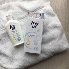 フェイス&ボディケアオイル 125ml(スキンケアオイル)を使ったクチコミ「フレイオイル♡乾燥、傷跡、アトピーにも効…」