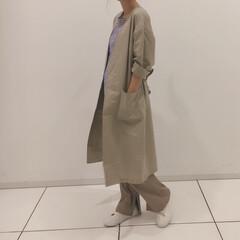 着回し/GU/ジーユー/ファッション GUのトータルコーディネート♡今年はリブ…