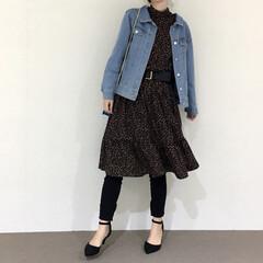 着回し/春コーデ/LIMIAおでかけ部/ファッション 春になったらたくさん着たい♡デニムジャケ…
