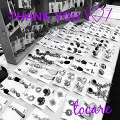 もうすぐプレゼント企画/楽しかった/出店/イベント/tocare_accessories/ハンドメイド/... 今日は産業文化センターでのハンドメイドク…