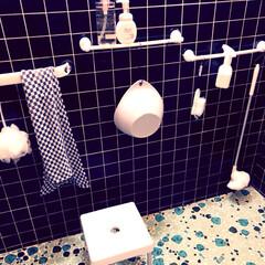 ニトリで購入/浴室収納/DIY/100均/ダイソー/ニトリ/... アイディアでも載せたのですが、  半年以…