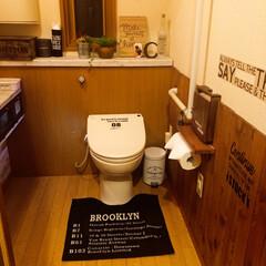 スリコ/ウィービングタペストリー/フェイクグリーン/トイレ/フォロー大歓迎/LIMIAインテリア部/... 再投稿です😅❣️ トイレ🚻が自慢て…💦お…