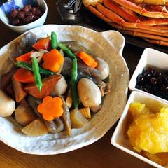 蟹/お雑煮/お節/お正月2020 我が家の簡単お節料理❣️  好きな物だけ…(2枚目)