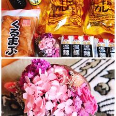 ブッダナッツ/素敵便/リミ友ちゃんからのプレゼント 今日届いた🎁  可愛いお花💐が入ったブッ…