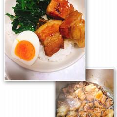 ルーロー飯/LIMIAごはんクラブ/わたしのごはん/グルメ TAKAさんの真似っこしてルーロー飯作っ…