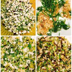 お素麺/夏野菜たっぷり/山形だし/おうちごはん/時短レシピ 今日は山形だしを作ってお素麺にかけて食べ…(2枚目)