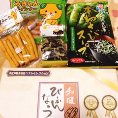 島根/四国/お土産 たくさんのお土産頂きました(o^^o) …