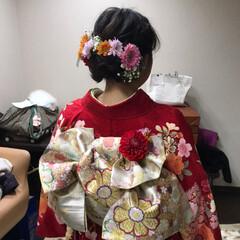 着付け/成人式 平成最後の成人式❗️  女の子の振袖姿は…(7枚目)