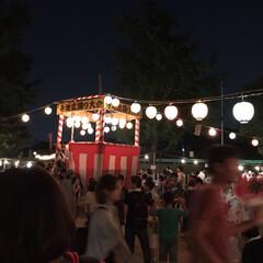 花火🎆/盆踊り大会/LIMIAファンクラブ/おでかけ/地元のオススメ 今夜は地元の神社で盆踊り大会がありました…