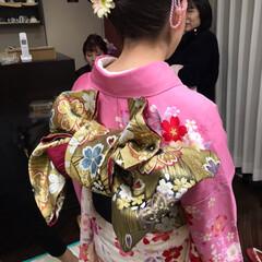 着付け/成人式 平成最後の成人式❗️  女の子の振袖姿は…