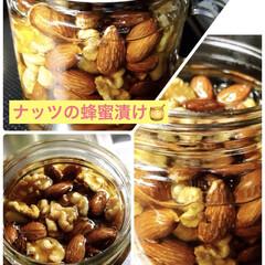 蜂蜜/ナッツ/フード ナッツの蜂蜜漬け🍯 usakuruさんの…
