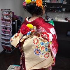 着付け/成人式 平成最後の成人式❗️  女の子の振袖姿は…(4枚目)