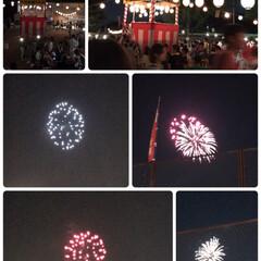 花火🎆/盆踊り大会/LIMIAファンクラブ/おでかけ/地元のオススメ 今夜は地元の神社で盆踊り大会がありました…(2枚目)