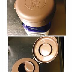 インスタントコーヒーの蓋/100均/ダイソー ダイソーで見つけた、インスタントコーヒー…