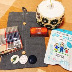 コイル編みの荷造り紐入れ/突然のプレゼント🎁/リミ友に感謝 仕事から帰ったら🎁届いてました(^O^☆…