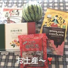 長崎/お土産/フード 昨日、たくさんのお土産いただきました😊🎶…
