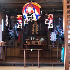 頂いた鯛🐟/巫女ちゃん達/新嘗祭⛩ 今日は近くの神社で新嘗祭⛩  巫女ちゃん…(1枚目)