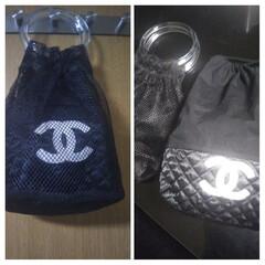 フォロー大歓迎/巾着袋/ハントメイド/GU guで購入したメッシュバッグなんと190…