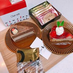 モロゾフ/シャノワール/クリスマス/ケーキ 会社からのお土産❤️❤️ モロゾフのクッ…