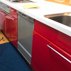 パナソニック/食洗機/購入品 新しい食洗機きたー😄  壊れたので修理も…(2枚目)