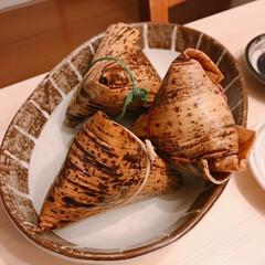 ちまき/551/炉端焼き/朝引き鶏 今日は朝引きの鶏肉と鴨肉を買ってきたので…(3枚目)